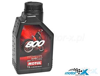 Oil Motul 800 2T Factory Line Off Road only to a mixture of synthetic 1L