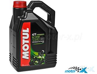 Engine Oil MOTUL 5100 Technosynthese semi-synthetic 4T 10W40 4L