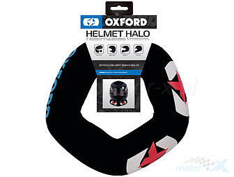A soft pad for storing an OXFORD motorcycle helmet