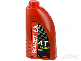Semi-synthetic motor oil ROMET 4T 10W40 1L