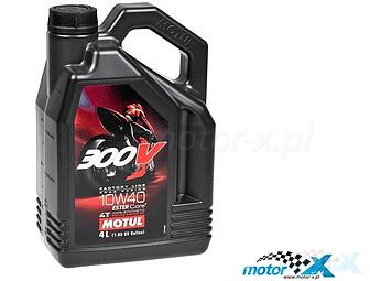 Motor oil Motul 300V Factory Line Synthetic Racing 4T 10W40 4L