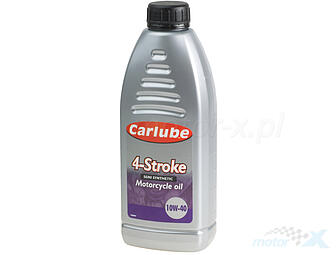 Semi-synthetic motor oil Carlube 4T 10W40 1L