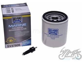 New SV37807 Bel-Ray Marine Fuel//Water Separating Filter