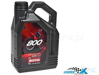Oil Motul 800 2T Factory Line Off Road to the mix synthetic 4L