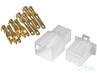 Electrical connector cube, 4 pins, version B