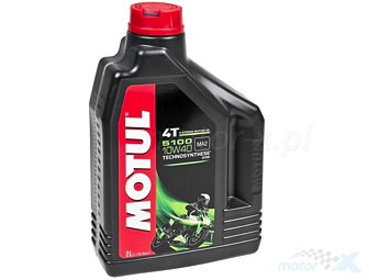 Engine Oil MOTUL 5100 4T 10W40 semi-synthetic Technosynthese 2L