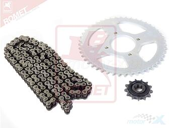 A set of drive / YZ2066 / 13Z / 48z + chain GV125