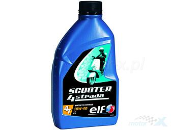 Engine oil Elf Scooter 4 Strada semi-synthetic 4T 10W40 1L