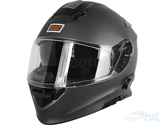 Modular helmet with intercome BlueTooth Origine Delta white