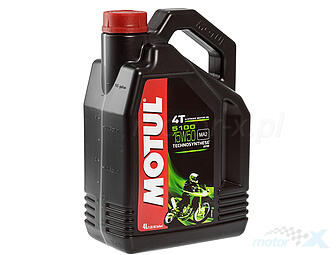 Engine Oil MOTUL 5100 Technosynthese semi-synthetic Ester 4T 15W50 4L
