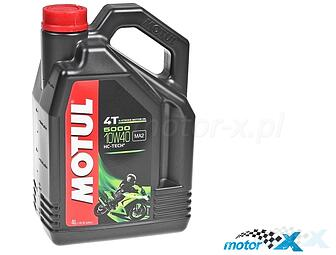 Engine Oil MOTUL 5000 HC-Tech semi-synthetic 4T 10W40 4L