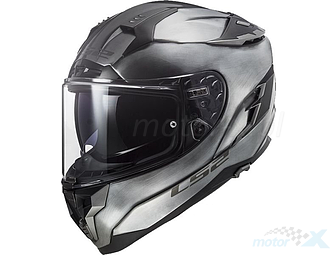 Nero XS LS2 Casco moto FF327 CHALLENGER FLEX MATT Nero