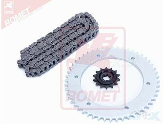 A set of drive / YZ2065 / 14z / 52z + chain GT125