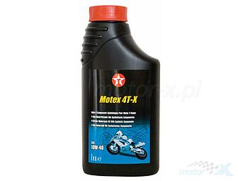 Engine oil Texaco Motex 4T-X semi-synthetic 4T 10W40 1L