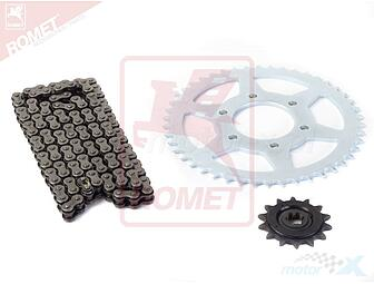 A set of drive / YZ2062 / 14z / 46z + chain GV250