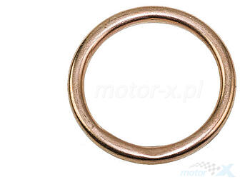 Gasket Exhaust  23x30x3.50mm copper 139QMB / QMA (GY6 50) 4T