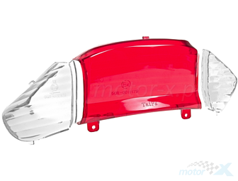 Rear light lens white