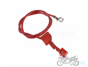 Installation cable red 80 cm