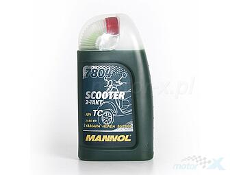Oil 2T Scooter Mannol 7804 Mineral 1L