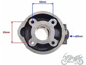 Parts for moped CPI Cylinders complete - www motor-x com