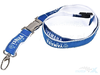 Yamaha Racing Lanyard, blue