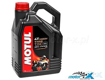 Motor oil Motul 7100 10W40 synthetic 4T 4L