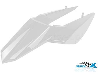 Rear fender TNT, white, Derbi Senda DRD 10- / Rear Rider, SMT 11-