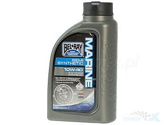 Engine Oil Bel-Ray Marine semi-synthetic 4T 10W40 1L