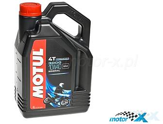 Engine Oil Mineral MOTUL 3000 4T 10W40 4L