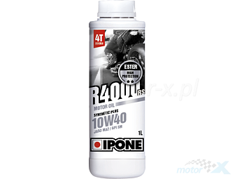 Engine oil IPONE R4000 RS semi-synthetic 4T 10W40 1L