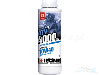Engine oil IPONE ATV 4000 RS semi-synthetic 4T 10W40 1L