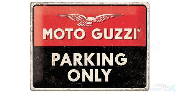 Nostalgic-Art Moto Guzzi Parking Only