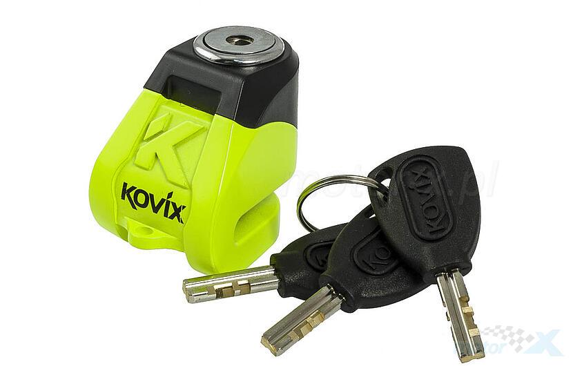 Blokada tarczy hamulcowej 6mm żółta KOVIX KN1