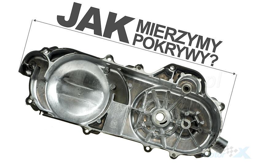 Silnik kompletny 50cm³ pokrywa 400mm na koło 10