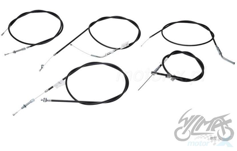 Simson cable sr1 sr2 black set of 5 pieces - www motor-x com