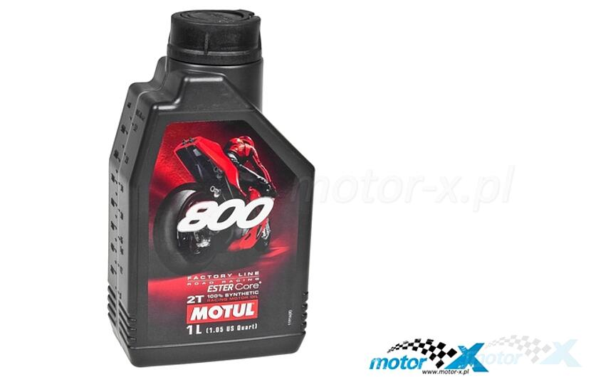 Oil Motul 800 2T Factory Line Road Racing to mix synthetic