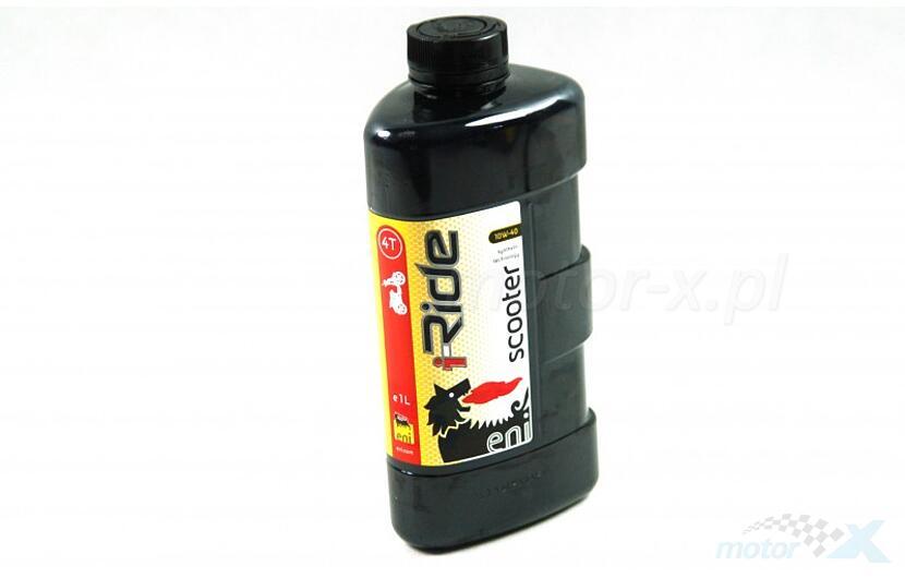 Olej silnikowy Agip ENI iRide półsyntetyczny 4T 10W40 1L