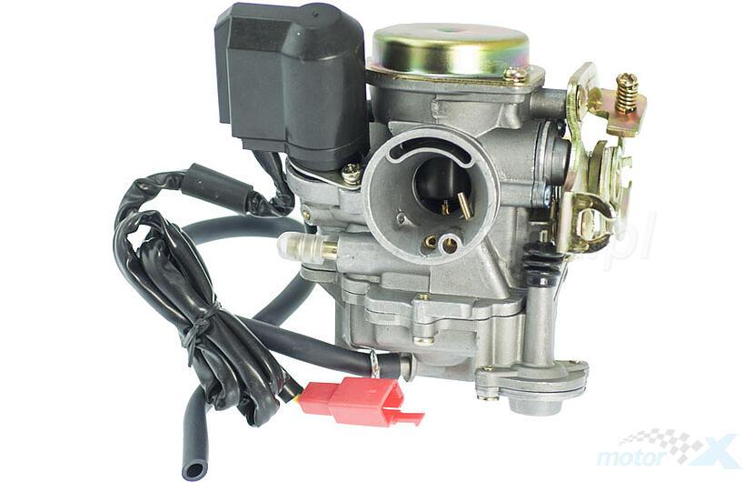 Carburetor 50cm³ metal lid 139QMB / QMA (GY6 50) 4T - www