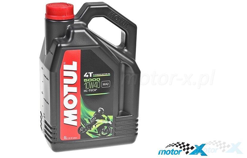 Olej silnikowy MOTUL 5000 HC-Tech półsyntetyczny 4T 10W40 4L