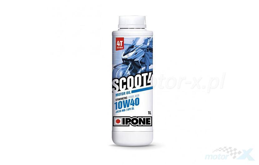 Olej silnikowy IPONE Scoot 4 półsyntetyczny 4T 10W40 1L