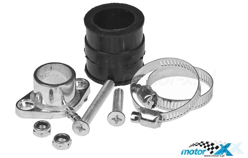 Mounting Kit for Dellorto carburetors, Peugeot AC / LC vertical