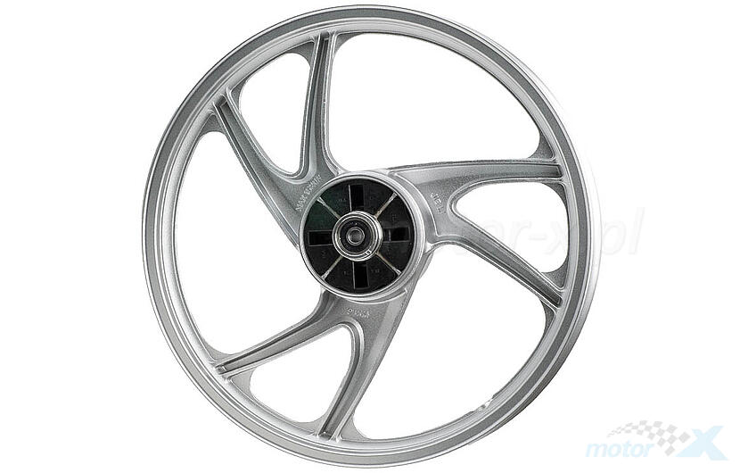 Felga tylna 1.60x17 aluminiowa srebrna Ferro 201 / 202