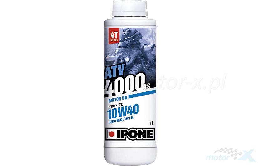 Olej silnikowy IPONE ATV 4000 RS półsyntetyczny 4T 10W40 1L