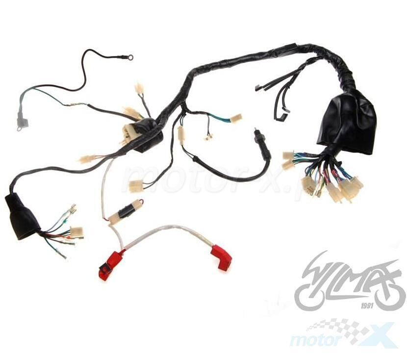 Instalacja elektryczna Shineray XY125-10D