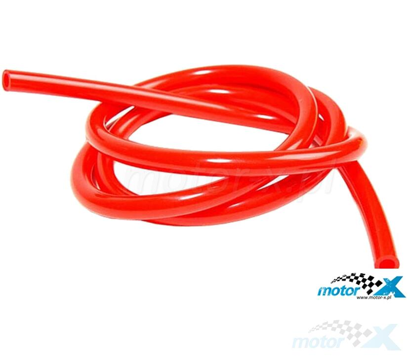 Przewód paliwa uniwersalny, 5 mm, 100 cm, Motoforce [różne kolory]