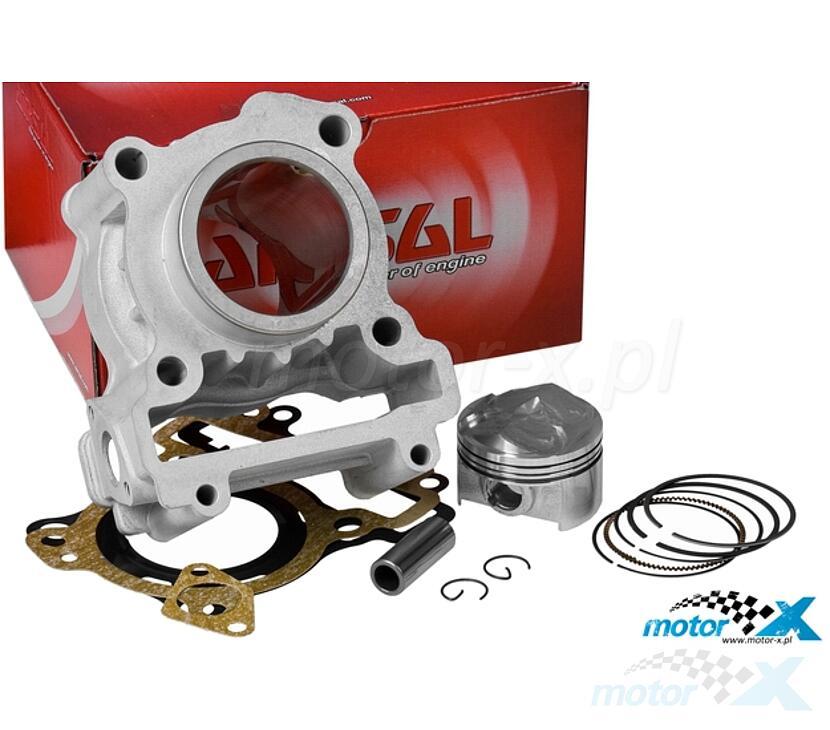 Cylinder Kit Airsal T6 125cm³, Yamaha X-Max / Cygnus / WR R / WR X / YZF R 125 (bez głowicy)
