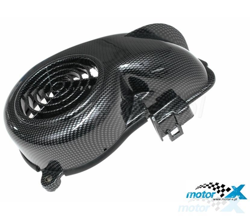 Osłona wentylatora silnika Revo, carbon, Minarelli leżące