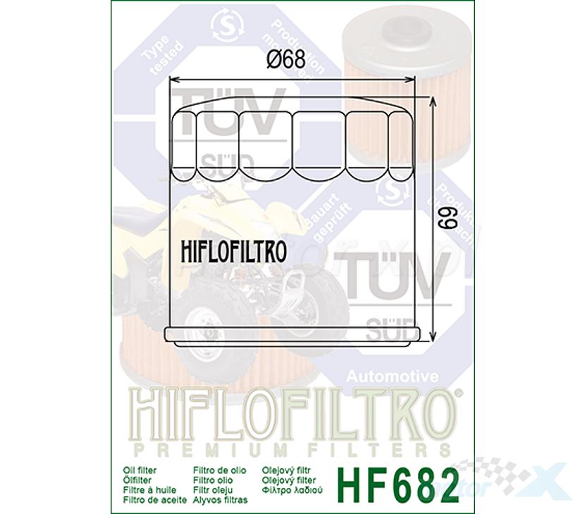 HiFlo HF682 Filtro olio