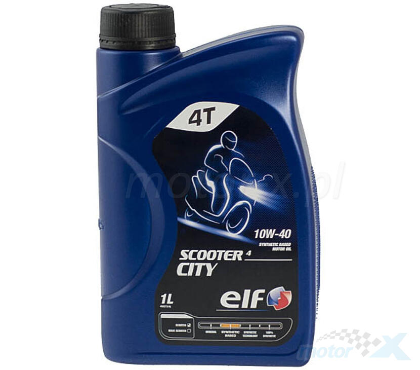 Olej silnikowy Elf Scooter 4 City półsyntetyczny 4T 10W40 1L