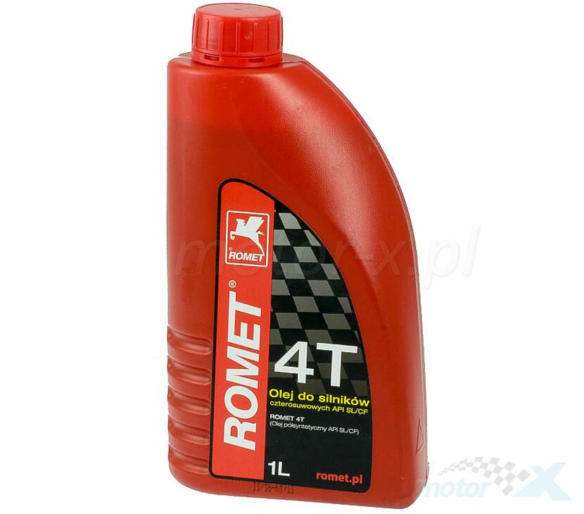 Olej silnikowy ROMET półsyntetyczny 10W40 4T 1L